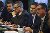 Albert Rivera, en una reunión de Ciudadanos con asociaciones de...