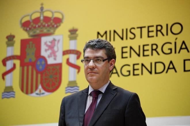 Álvaro Nadal, en su toma de posesión como ministro de Energía, Turismo y Agenda Digital.