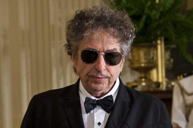 Fotografía de archivo de Bob Dylan.