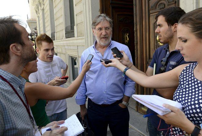 El diputado socialista José Antonio Pérez Tapias.