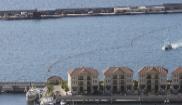 La base naval británica en Gibraltar.