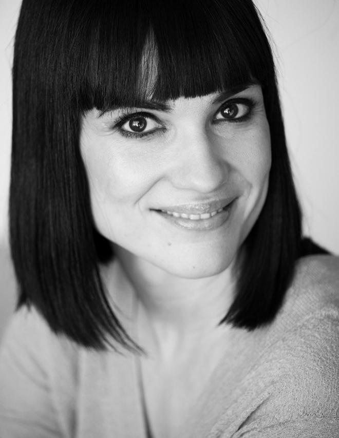 La periodista Irene Villa.