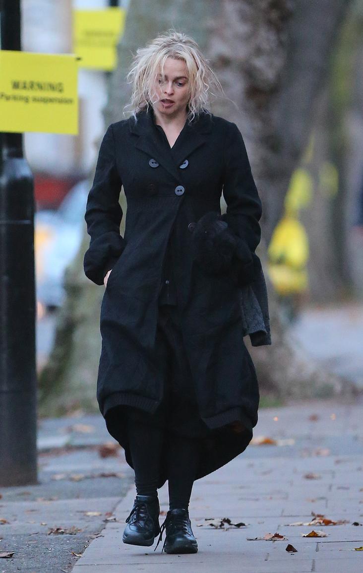 La actriz Helena Bonham Carter se mimetizó con alguno de sus...