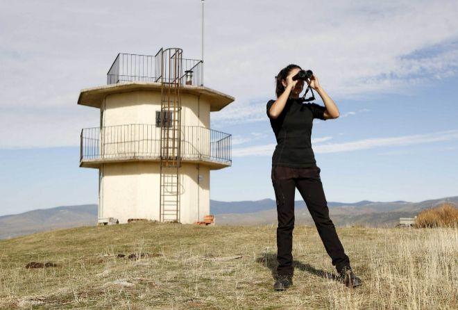Lorena Juste, responsable del proyecto Monachus en Burgos