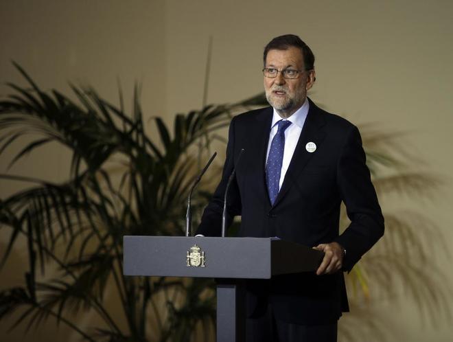 Mariano Rajoy, en un acto por el Día Internacional de la Eliminación...