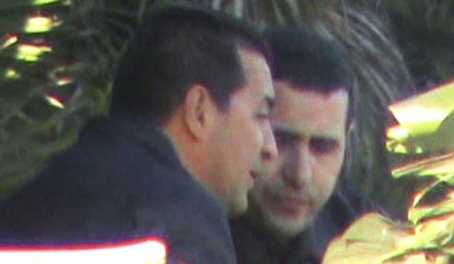Domenico Panella junto a Mohamed Lahasen.