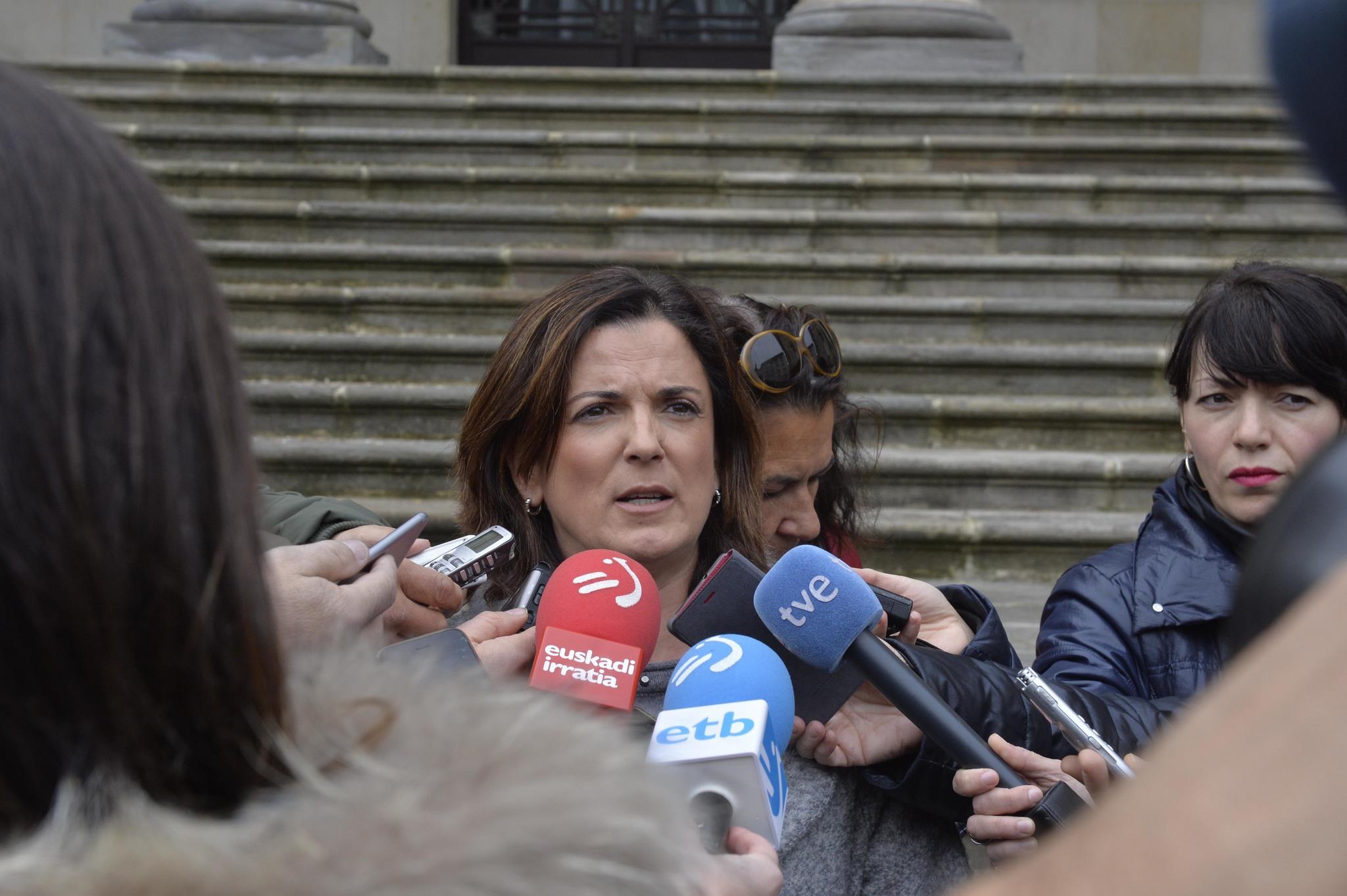 Beatriz Artolazabal, desde hoy  nueva consejera de Empleo del Gobierno vasco.