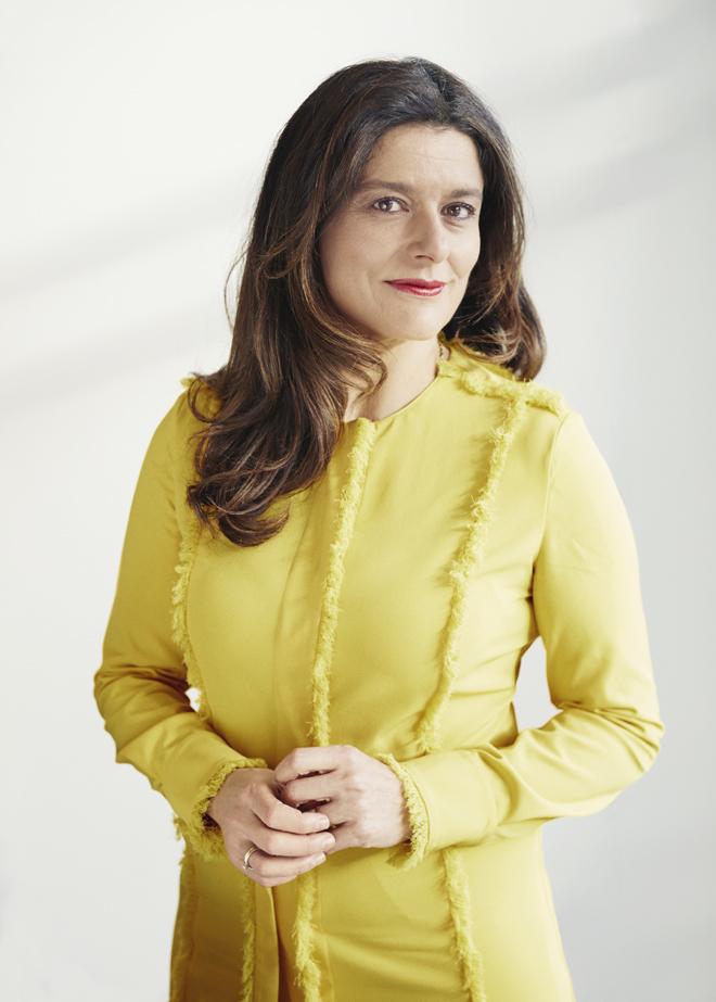 Miriam González en su despacho de la firma de abogados Dechert, en...