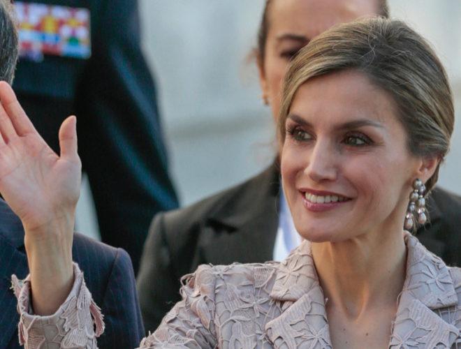 La Reina Letizia en Oporto