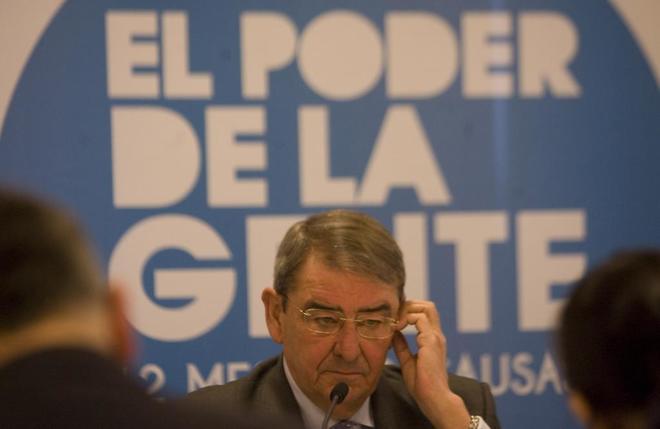 Alejandro Echevarría, presidente de Mediaset España y de la patronal...