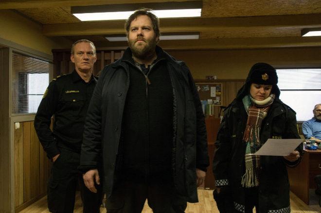 La ficción islandesa Ófærð', 'Trapped' según su título...