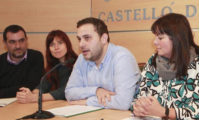 Presentación, este martes, del Día Mundial de Acción contra el Sida en Castellón.