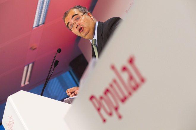 El ya ex presidente de Banco Popular, Ángel Ron.