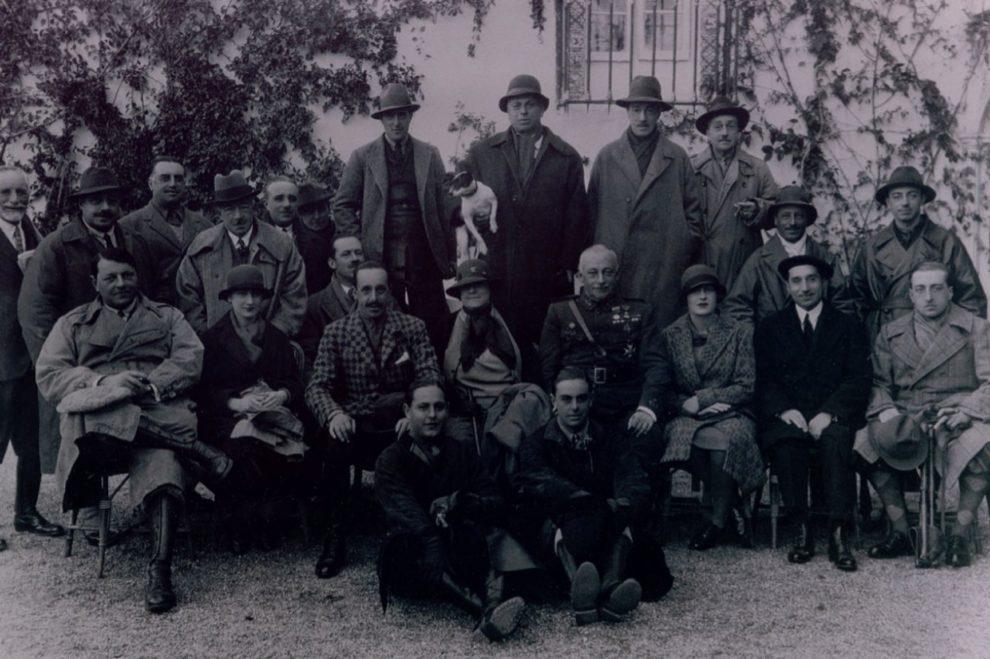 Las cacerías que el marqués de Viana organizaba para Alfonso XIII...