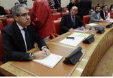 Francesc Homs, en la Comisión Constitucional del Congreso de los...