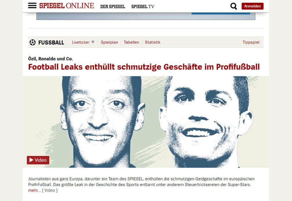 La revista alemana Der Spiegel.