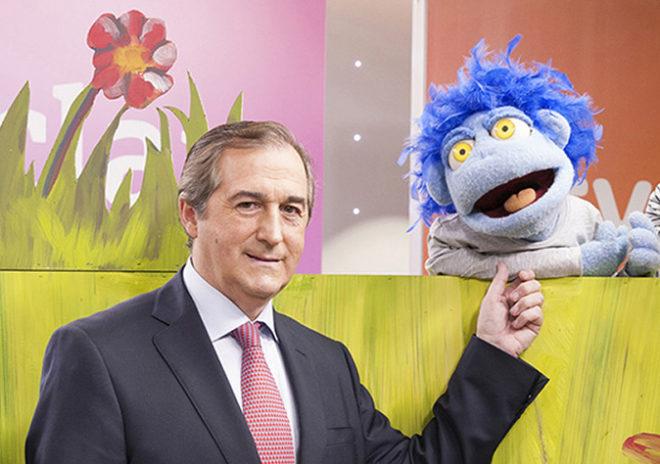 Eladio Jareño, director de TVE, y Lublú, personaje de vuelta en...