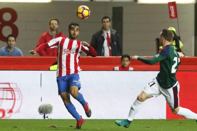 Douglas marcó el 2-0 y causó bastante peligro al Osasuna
