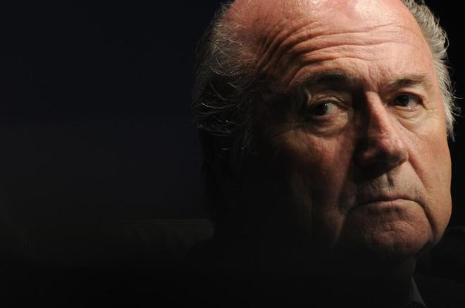 El expresidente de la FIFA Joseph Blatter.