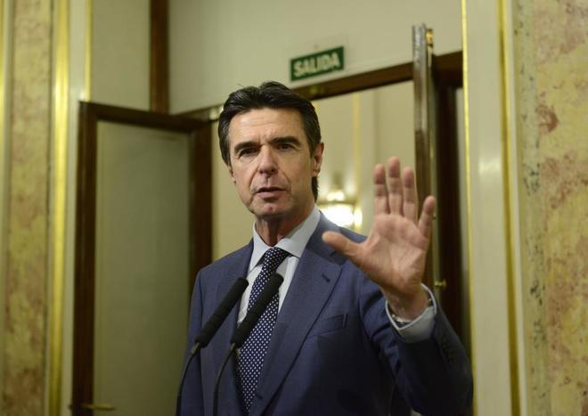 El ex ministro de Industria, Energía y Turismo, José Manuel Soria.