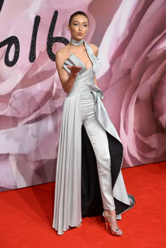 gigi hadid british fashion awards