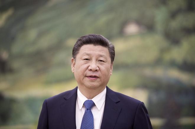 El presidente chino Xi Jinping, fotografiado en el Gran Palacio del...