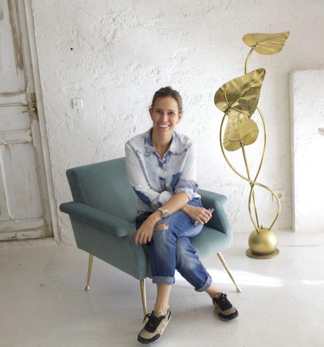 Piluca Hueso, artífice del espacio de decoración La Trastienda de...