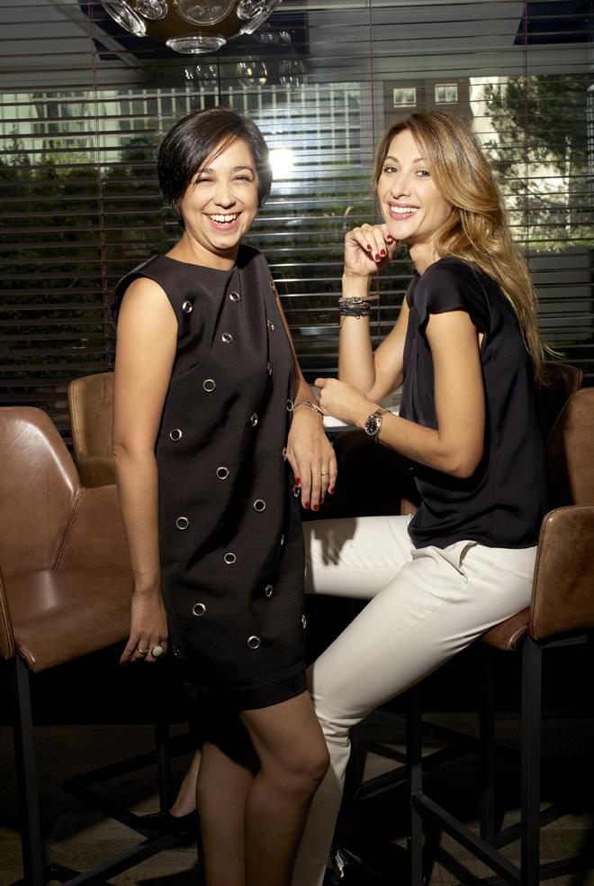 La psicóloga del Club de las Malas Madres Ana Kovacs y la actriz...