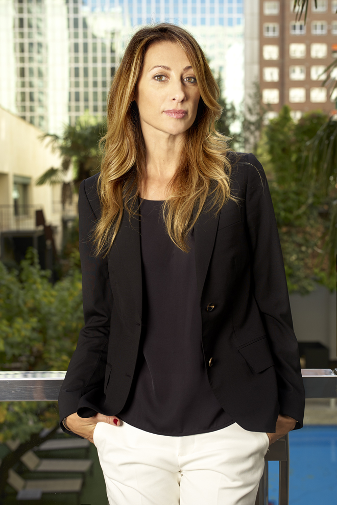 La actriz Mónica Pont.
