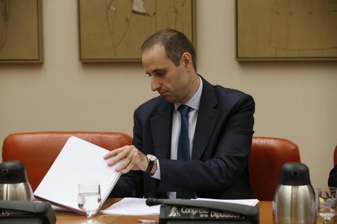El presidente del Frob, Jaime Ponce, en una comparecencia.