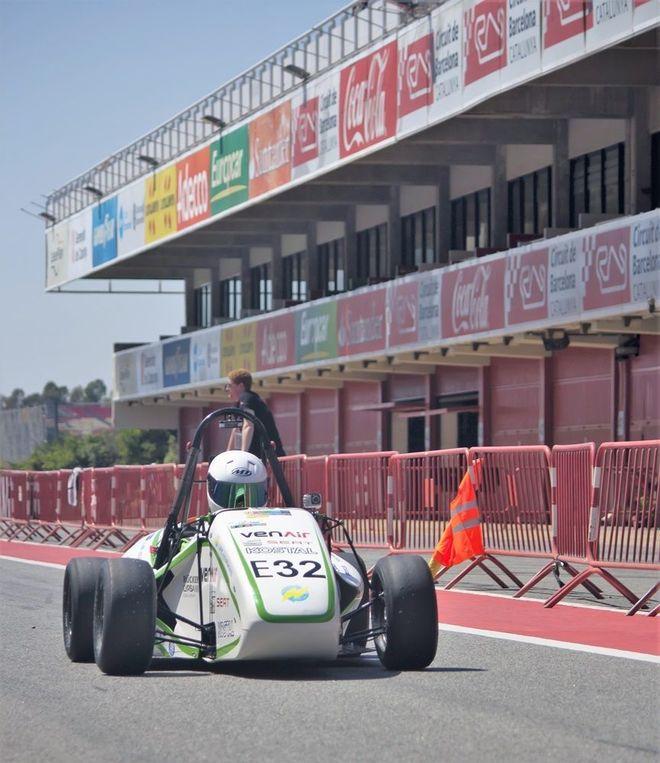 La UPC participa con un coche 'eco' en el Fórmula de Australia