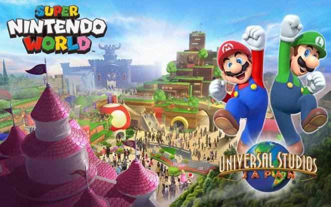 Una imagen promocional de la zona dedicada Nintendo