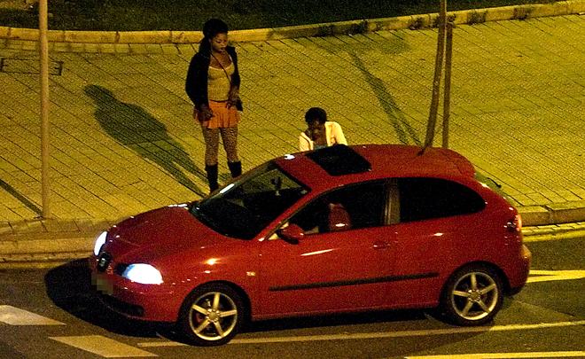 esclava para hombre prostitutas coche