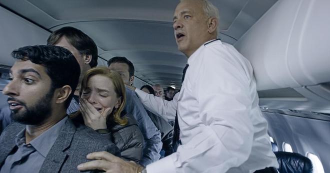 Fotograma de 'Sully', con Tom Hanks.