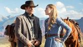 James Marsden y Evan Rachel Wood, en la serie 'Westworld'.