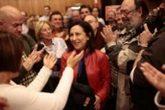 La diputada Margarita Robles, en la presentación de la plataforma de...