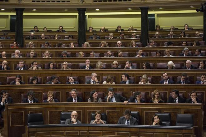 Pleno del Congreso de los Diputados el pasado noviembre.