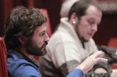 Oleguer Pujol en la Comisión  anti fraude  del Parlamento de...