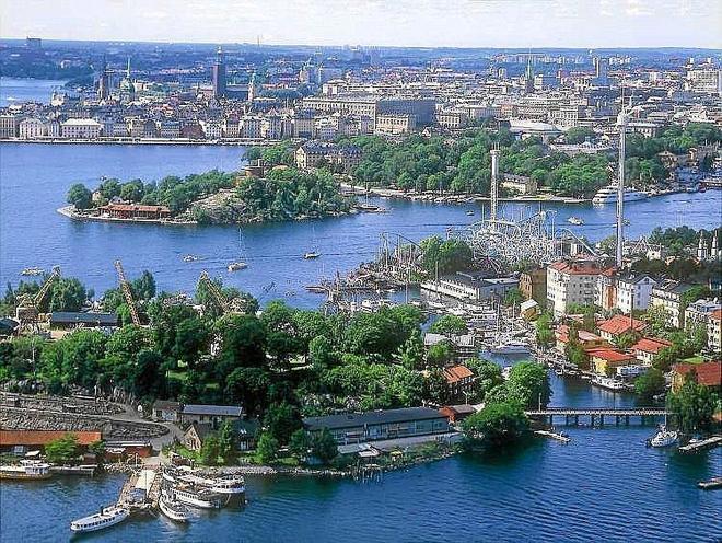 Imagen panorámica de Estocolmo, capital de Suecia, uno de los países en el punto de mira del BCE.