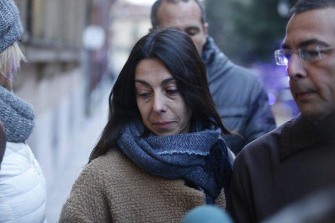Raquel Gago, durante el juicio en la Audiencia Provincial de León.