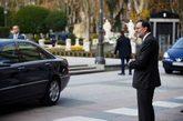 El presidente Mariano Rajoy este miércoles en Madrid, en la entrega...