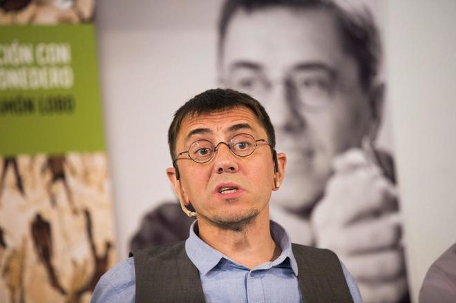 El ex dirigente y cofundador de Podemos, Juan Carlos Monedero.