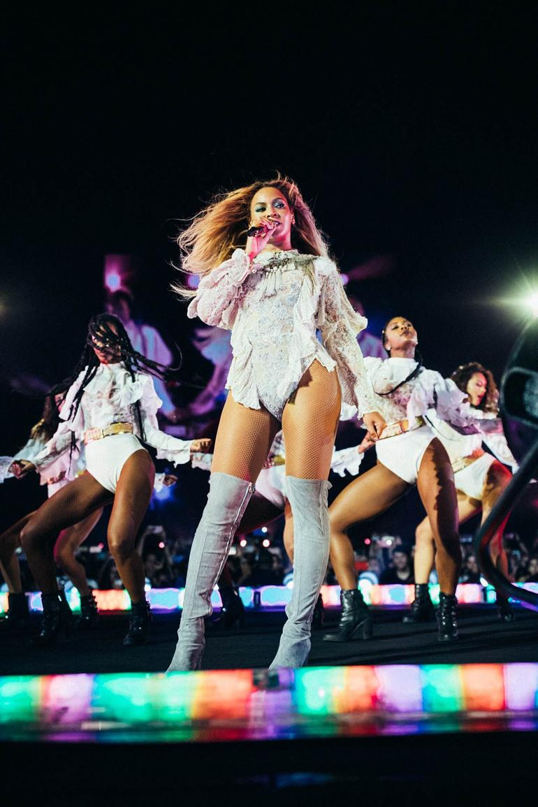 Si hay un lugar donde Beyoncé ha desplegado sus armas de destrucción...