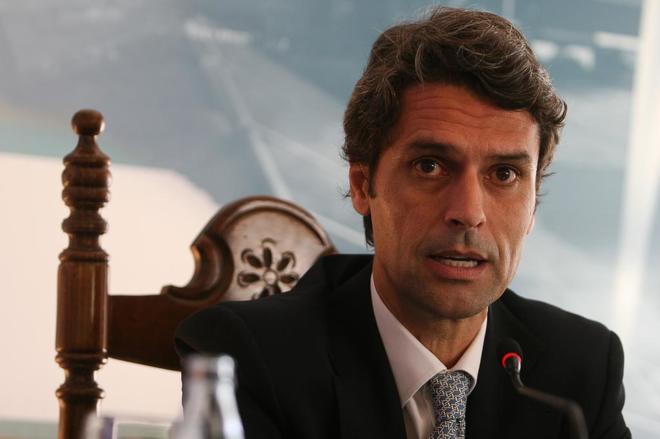 Enrique Hernández Bento, ex delegado del Gobierno en Canarias.