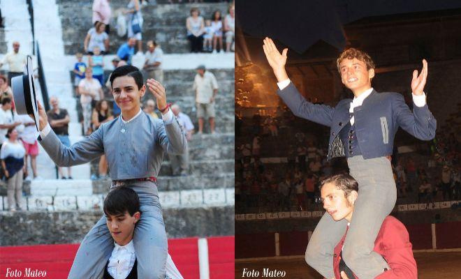 Salidas a hombros de Miguel Polope y Borja Collado.