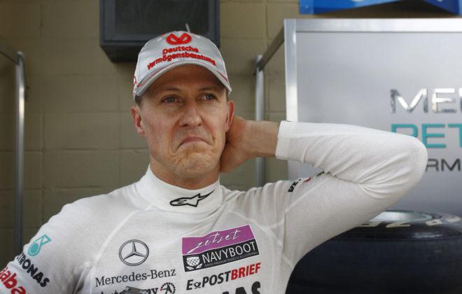 Michael Schumacher, en una imagen reciente.