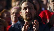 Pablo Iglesias, líder de Podemos, ayer en Madrid.