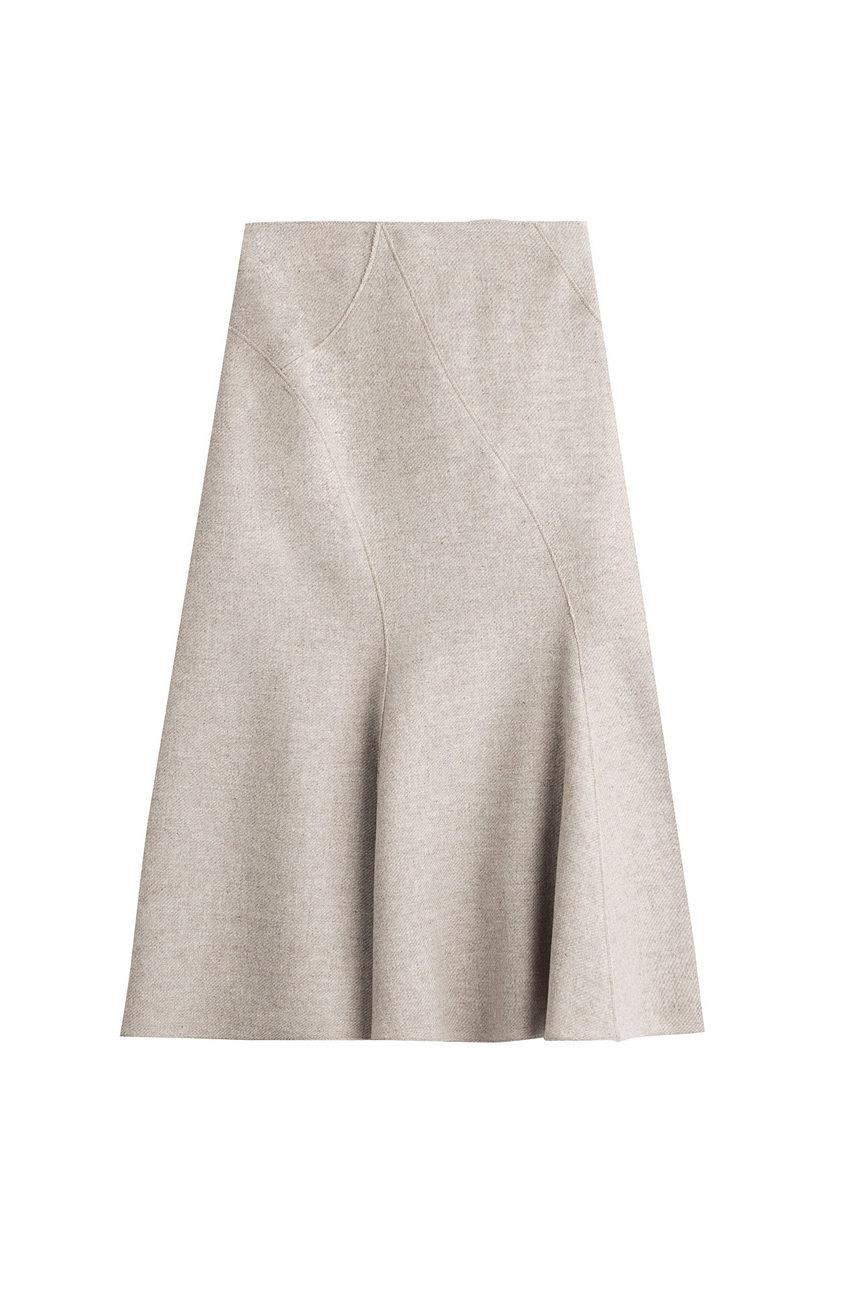 Falda midi de Alberta Ferretti (609 euros) a la venta en Stylebop.com.