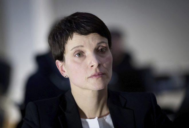 La líder del partido de ultraderecha Aleternativa para Alemania, Frauke Petry.