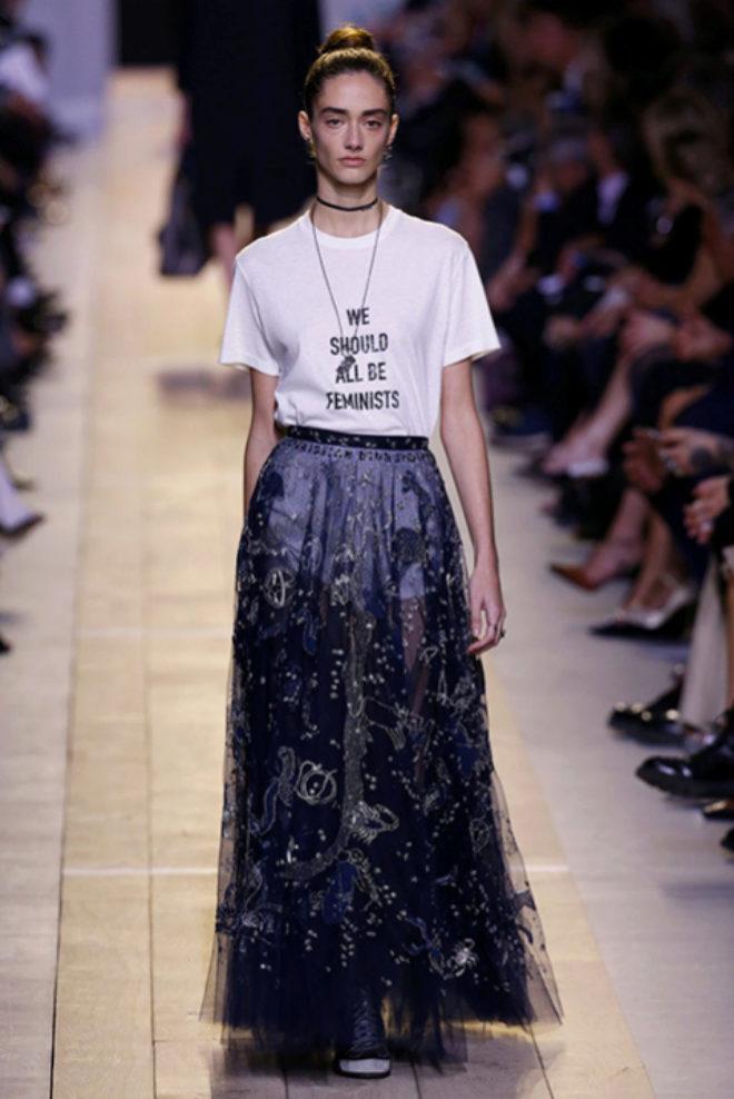 La primera colección de Maria Grazia Chiuri para Dior.